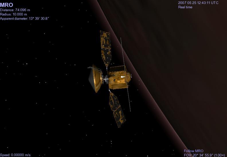 Mars Reconnaisance Oriter